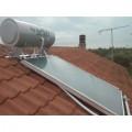 Solar system SELKO 200lt/2x2m2 roof three energy