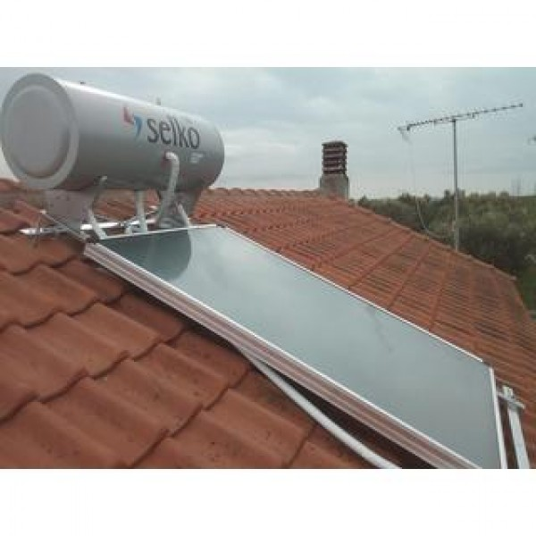 Solar system SELKO 300lt/2x2.5m2 roof three energy