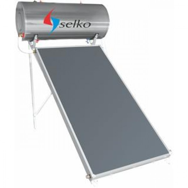 Solar system SELKO 150lt/2.37m2 floor three energy