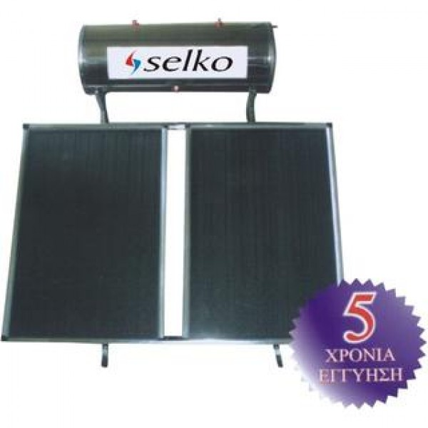 Solar system SELKO 150lt/2x1.5m2 floor three energy